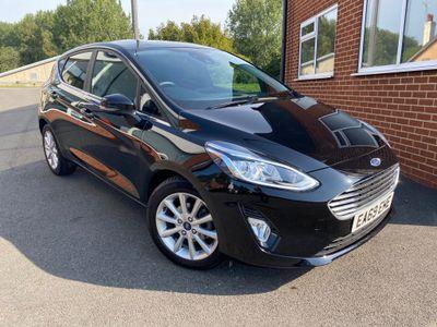 Ford Fiesta Hatchback 1.0T EcoBoost Titanium Auto (s/s) 5dr