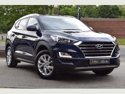 Hyundai TUCSON SUV 1.6 CRDi MHEV SE Nav (s/s) 5dr