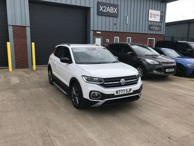 Volkswagen T-Cross SUV 1.0 TSI First Edition (s/s) 5dr