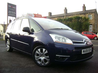 Citroen Grand C4 Picasso MPV 2.0 HDi 16v Exclusive 5dr