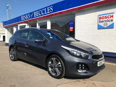Kia Ceed Estate 1.6 CRDi GT-Line Sportswagon DCT (s/s) 5dr