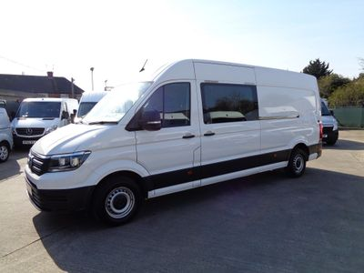Volkswagen Crafter Panel Van 2.0 TDI CR35 BlueMotion Tech Startline FWD LWB High Roof EU6 (s/s) 2dr