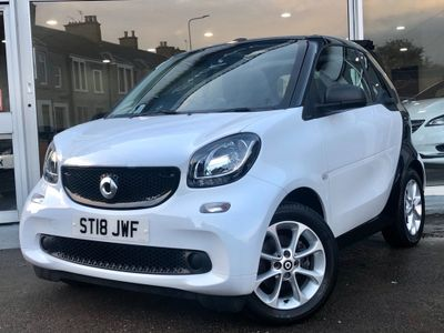 Smart fortwo Convertible 1.0 Passion Cabriolet (s/s) 2dr