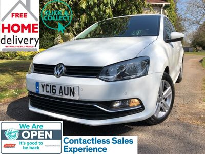 Volkswagen Polo Hatchback 1.4 TDI BlueMotion Tech Match (s/s) 5dr