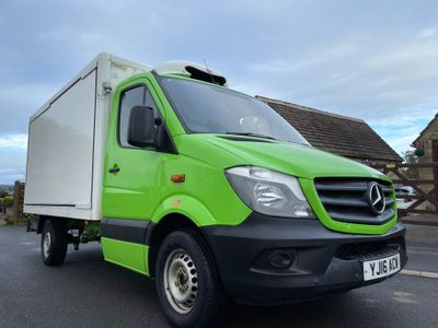 Mercedes-Benz Sprinter Chassis Cab 2.1 CDI BlueEFFICIENCY 313 Chassis Cab 7G-Tronic 2dr (LWB)
