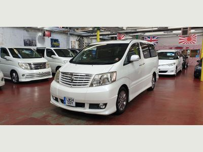 Toyota Alphard MPV LPG FITTED 3.0 V6, 2 auto doors, sunroof