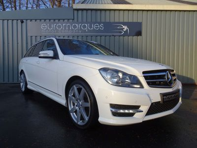 Mercedes-Benz C Class Estate 2.1 C220 CDI AMG Sport Edition 7G-Tronic Plus 5dr