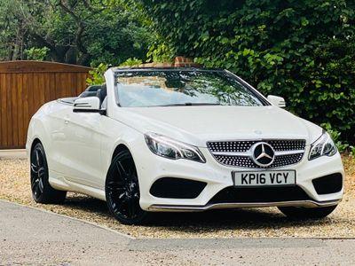 Mercedes-Benz E Class Convertible 3.0 E350 AMG Line Edition Cabriolet 7G-Tronic Plus (s/s) 2dr