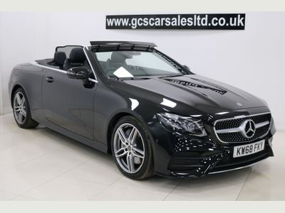 Mercedes-Benz E Class Convertible 2.0 E300 AMG Line Cabriolet G-Tronic+ (s/s) 2dr
