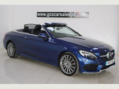 Mercedes-Benz C Class Convertible 2.0 C300 AMG Line Cabriolet G-Tronic+ (s/s) 2dr