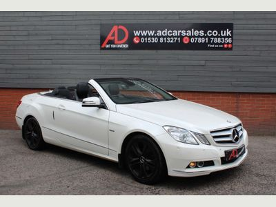 Mercedes-Benz E Class Convertible 2.1 E220 CDI BlueEFFICIENCY SE Cabriolet 2dr