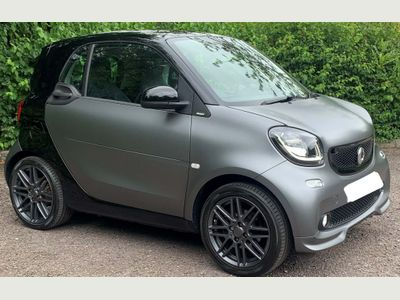 Smart fortwo Coupe 0.9T BRABUS Sport (Premium Plus) Twinamic (s/s) 2dr