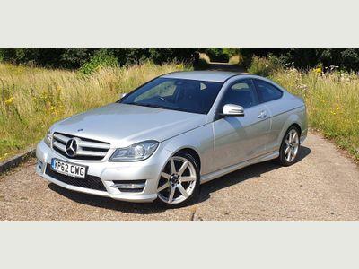 Mercedes-Benz C Class Coupe 2.1 C220 CDI BlueEFFICIENCY AMG Sport 7G-Tronic Plus 2dr (COMAND)