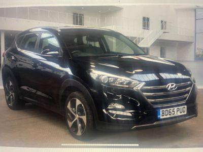 Hyundai TUCSON SUV 2.0 CRDi Premium 4WD 5dr