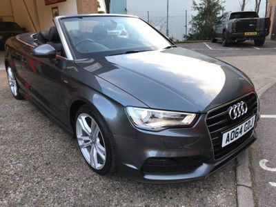 Audi A3 Cabriolet Convertible 1.6 TDI S line Cabriolet 2dr
