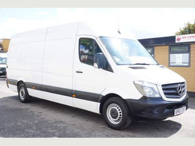 Mercedes-Benz Sprinter Panel Van 2.1 CDI 314 High Roof Panel Van 4x4 5dr (EU6, LWB)