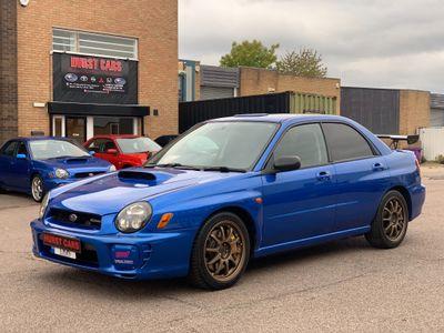 Subaru Impreza Saloon JDM WRX ST1 Spec C S202 Limited Edition