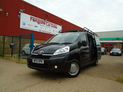 Toyota ProAce Other 2.0 HDi 1200 L2H1 Crew Van 5dr