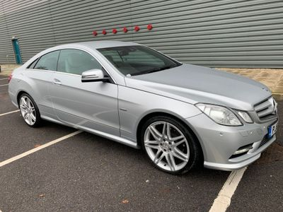 Mercedes-Benz E Class Coupe 3.0 E350 CDI BlueEFFICIENCY Sport Edition 125 7G-Tronic Plus (s/s) 2dr