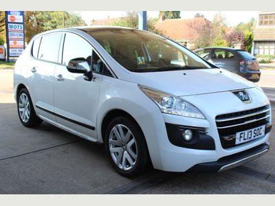 Peugeot 3008 SUV 2.0 e-HDi Hybrid4 Allure EGC 4X4 (s/s) 5dr