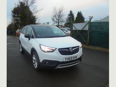 Vauxhall Crossland X SUV 1.2 Turbo Business Edition Nav (s/s) 5dr