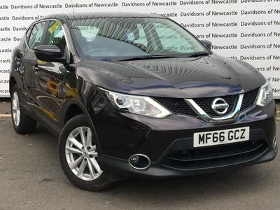NISSAN QASHQAI SUV 1.5 dCi Acenta (Smart Vision & Tech Packs) 5dr