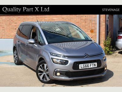 Citroen Grand C4 Picasso MPV 1.6 BlueHDi Flair EAT6 (s/s) 5dr