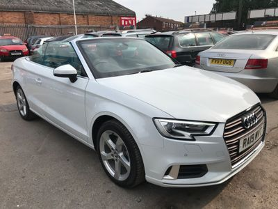 Audi A3 Cabriolet Convertible 1.5 TFSI CoD 35 Sport Cabriolet (s/s) 2dr