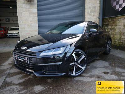 Audi TT Coupe 2.0 TFSI Black Edition S Tronic quattro (s/s) 3dr