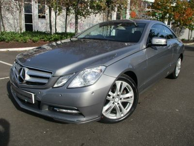 Mercedes-Benz E Class Coupe 2.1 E220 CDI BlueEFFICIENCY SE G-Tronic 2dr