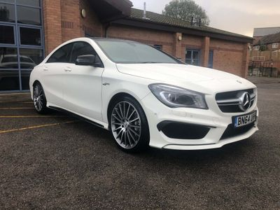 Mercedes-Benz CLA Class Coupe 2.0 CLA45 AMG Speedshift DCT 4MATIC (s/s) 4dr