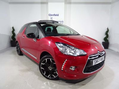 Citroen DS3 Cabrio Convertible 1.6 VTi DStyle Plus 2dr