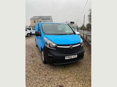 Vauxhall Vivaro Panel Van 1.6 CDTi 2900 BiTurbo ecoFLEX L1 H1 EU5 (s/s) 5dr
