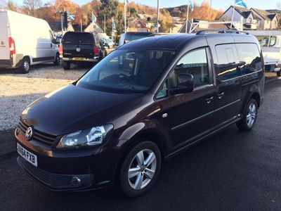 Volkswagen Caddy Maxi Life MPV 2.0 TDI BlueMotion Tech C20 Maxi Life Bus DSG 5dr (7 Seats)