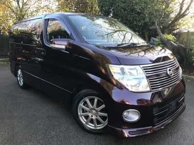 Nissan Elgrand MPV 2.5 V6 AUTO, HIGHWAY STAR, 8 SEATS