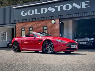 Aston Martin Vantage Convertible 4.3 V8 Roadster Sportshift 2dr