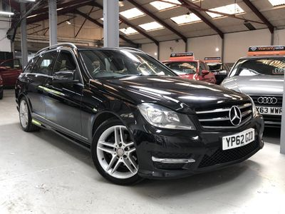 Mercedes-Benz C Class Estate 2.1 C220 CDI AMG Sport 7G-Tronic Plus 5dr