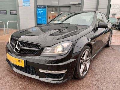 Mercedes-Benz C Class Saloon 6.3 C63 AMG MCT 4dr
