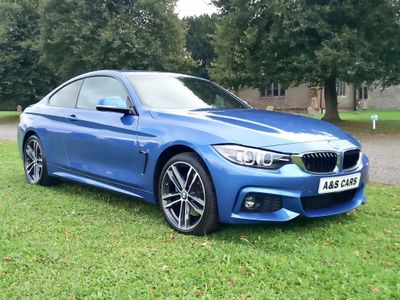 BMW 4 Series Coupe 2.0 420i M Sport Auto xDrive (s/s) 2dr