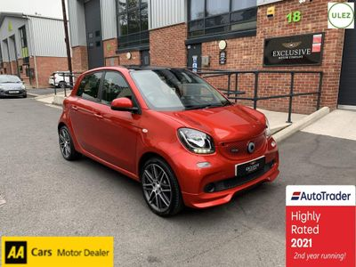 Smart forfour Hatchback 0.9T BRABUS (Premium) Twinamic (s/s) 5dr