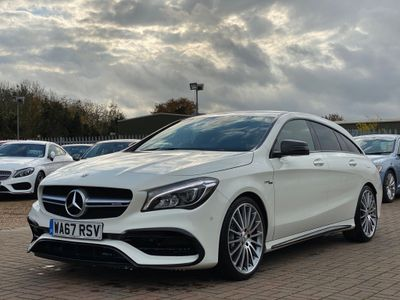 Mercedes-Benz CLA Class Estate 2.0 CLA45 AMG Shooting Brake SpdS DCT 4MATIC (s/s) 5dr