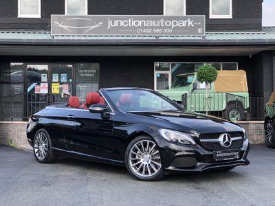 Mercedes-Benz C Class Convertible 2.1 C220d Sport Cabriolet G-Tronic+ (s/s) 2dr