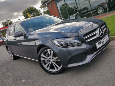 Mercedes-Benz C Class Estate 2.0 C350e 6.4kWh Sport (Premium) G-Tronic+ (s/s) 5dr 18in Alloy