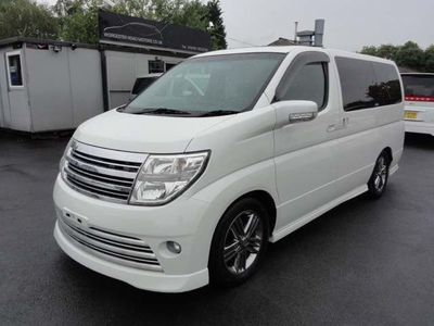 Nissan Elgrand MPV RIDER 4WD LEATHER HI SPEC