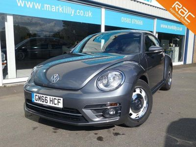 VOLKSWAGEN BEETLE Hatchback 2.0 TDI BlueMotion Tech Design (s/s) 3dr
