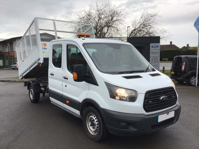 Ford Transit Tipper 350 L3 CREW CAB TIPPER 130PS EURO 6