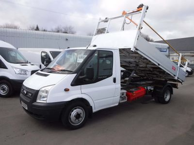 Ford Transit Tipper 2.2TDCI T350 125ps 12FT Tipper
