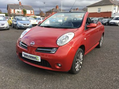 Nissan Micra C+C Convertible 1.6 Pink 2dr