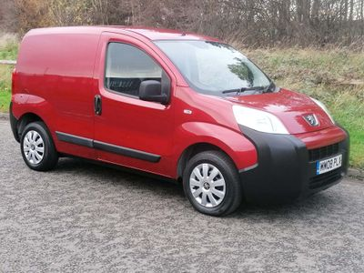 Peugeot Bipper Panel Van 1.4 HDi 8v S Panel Van 3dr