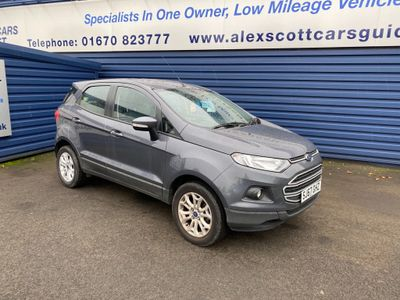 Ford EcoSport SUV 1.5 TDCi Zetec (s/s) 5dr